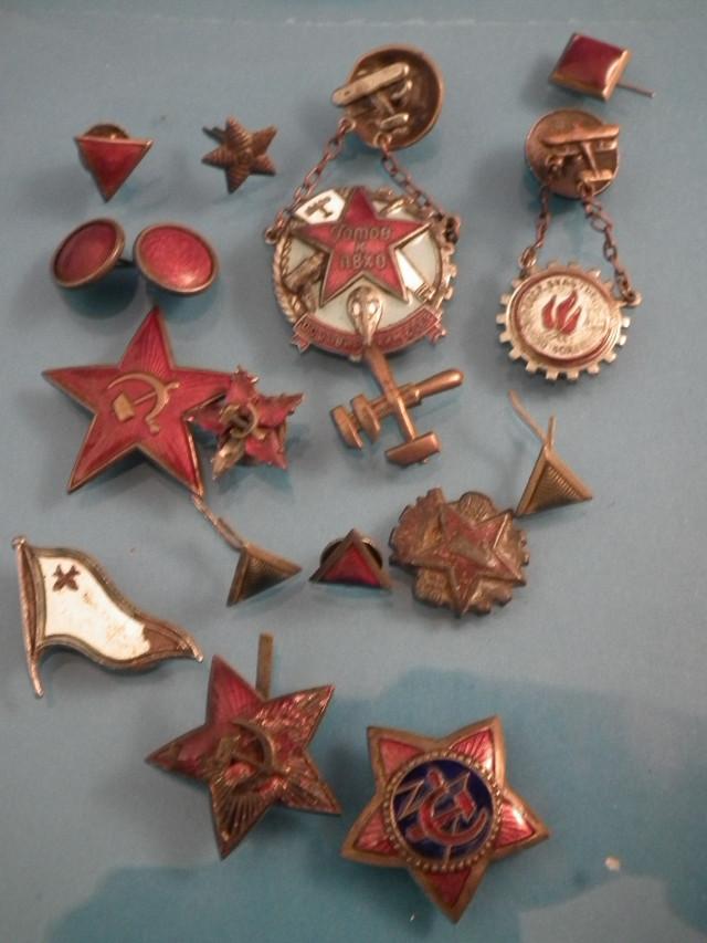 Neuvostoliittolaisia merkkejä talvi/jatkosodasta