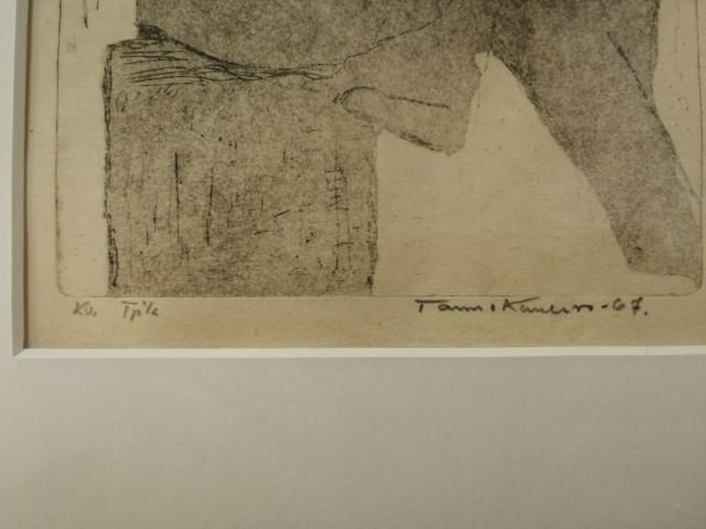 Tarmo Kanerva signeerattu grafiikka