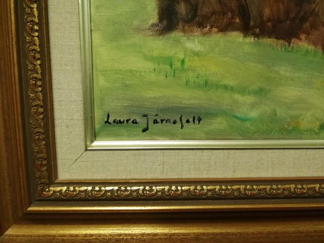 Taulu sign.Laura Järnefelt