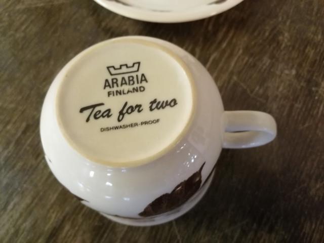 Arabia Tea for Two