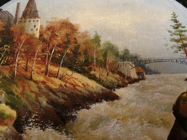 Taulu Imatran Koski 1900-luvun alku