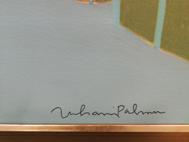 Juhani Palmu signeerattu Terragrafiikka