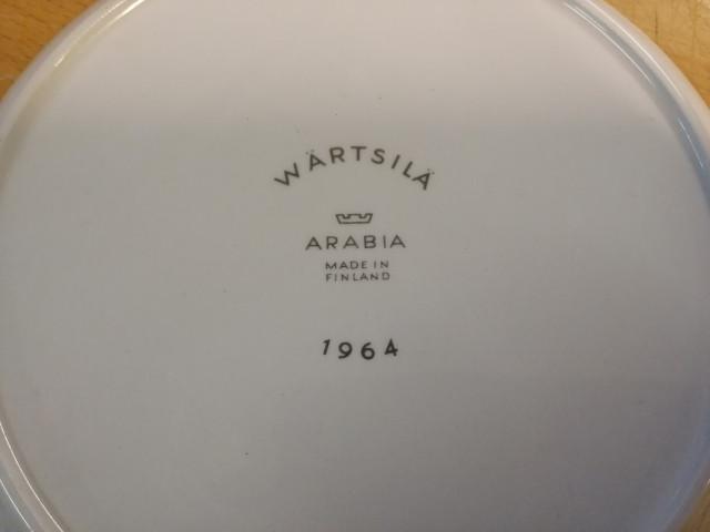 Arabia Wärtsilä kahvikupit ja tassit