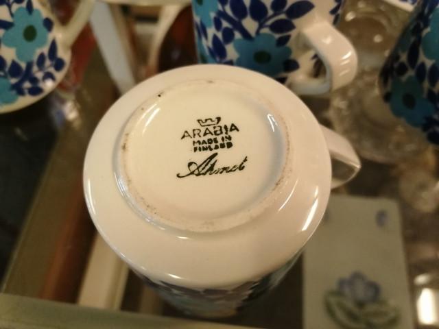 Arabian kahviastiastoa