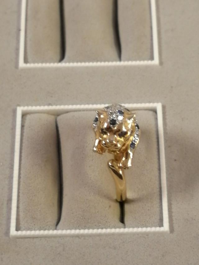 Kulta sormus 14 Karaattia