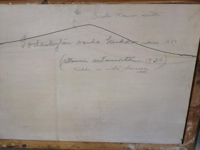 Taulu Kaarlo Atra signeerattu  v. 1926
