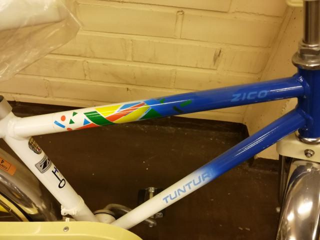 Tunturi Zico lasten polkupyörä käyttämätön