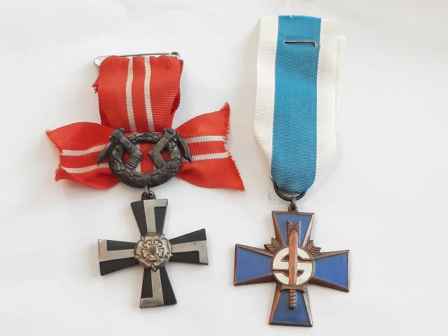 Vr 41 ja Sininen risti
