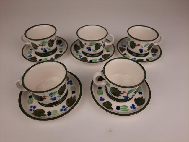 Arabia Palermo Dorrit von Fieandt kahvikupit