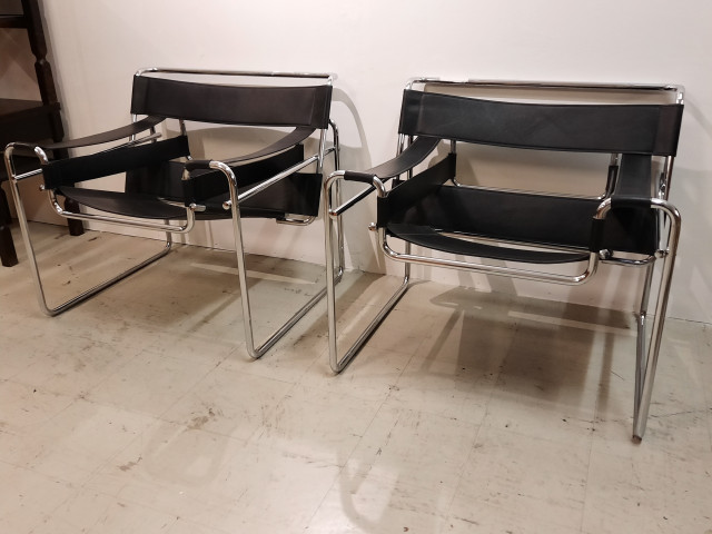 Wassility Chair Marcel Bauer 2kpl made in Italy