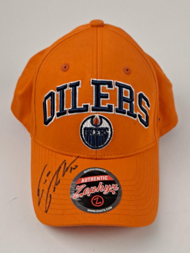 Edmonton Oilers Lippalakki Esa Tikkanen signeerattu