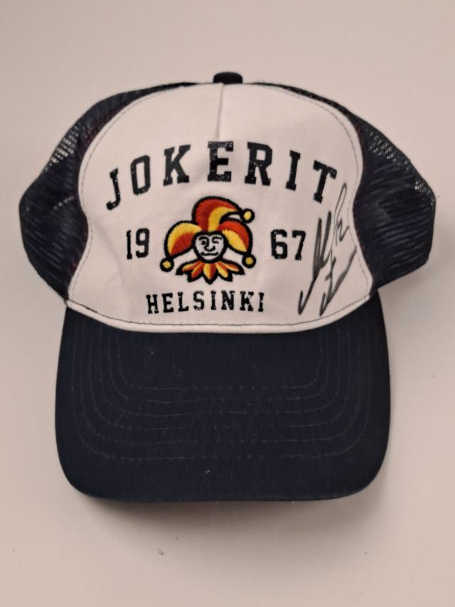 Lippalakki Marko Anttila signeerattu Jokerit