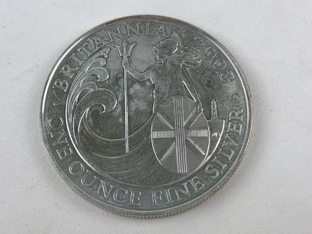 Hopeinen 2 punnan kolikko 2008