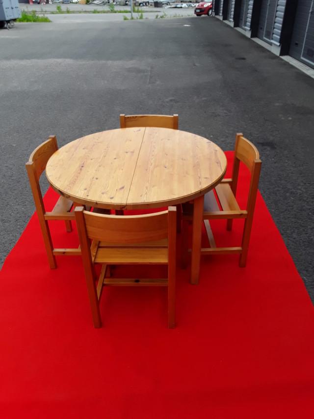 Ilmari Tapiovaara jatkettava pöytä+tuolit