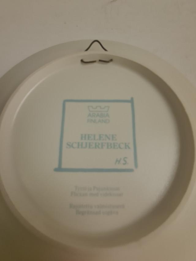 Helene Schjerfbeck Arabia lautanen