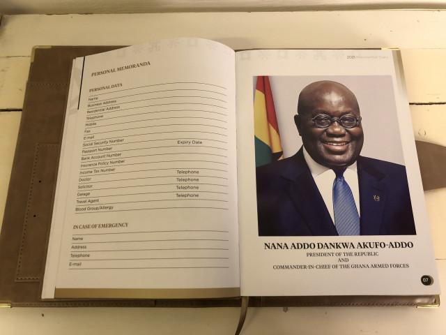 Presidential Diary Republic of Ghana