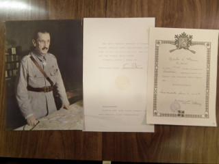Mannerheim kuva ja dokumentteja