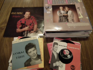 Erä LP-levyjä