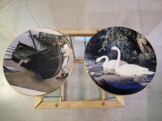 Isot Arabian Gallen-Kallella koristelautaset
