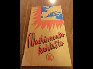 Maihinnousu kartasto 1940 luvulta