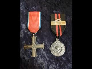 Summan risti ja talvisodan muistomitali