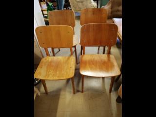 1950 luvun tuolit 4kpl