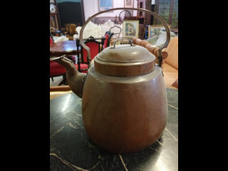 Iso Kuparinen Kahvipannu signeerattu noin 18 litrainen