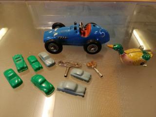 Schuco vetoauto ja muita leluja