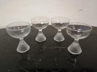 Tapio Wirkkala Briljantti lasit 4kpl
