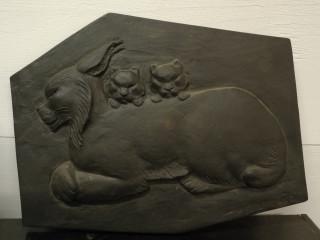 Michael Schilkin valurauta reliefi signeerattu Ilvesäiti