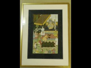 Intialainen Mughal maalaus