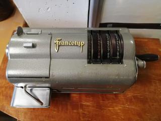 Francotyp laskin