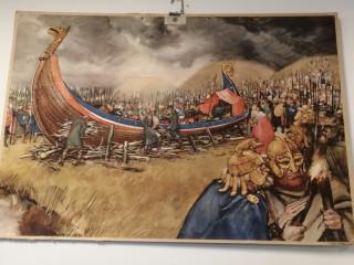 Koulutaulu Viikingit