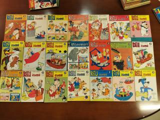 Retu ja Kumppanit sarjakuvalehtiä 52kpl vuosilta 1965-66 ym. sarjakuvalehtiä