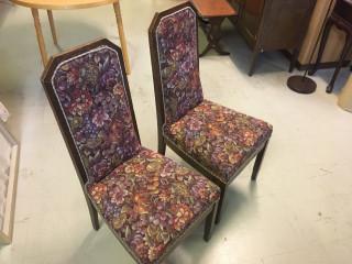 2 Kpl tuoleja