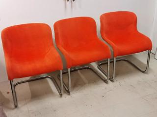 Asko Design tuolit 3kpl