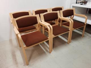 Tuolit 6kpl