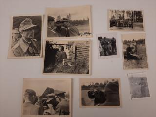 Alkuperäisiä kuvia Edward Dietell v.1940 luvulta Lapista