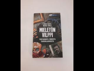 Mieletön Vilppi kirja signeerannut Veli Seppä