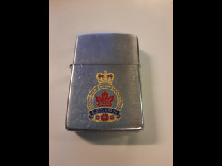Royal Canadian Legion Zippo