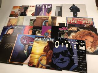 Erä LP-levyjä 60-70 luvulta