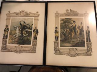 Sotilasaiheiset litografiat
