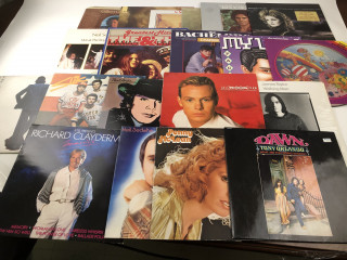 LP-levyjä