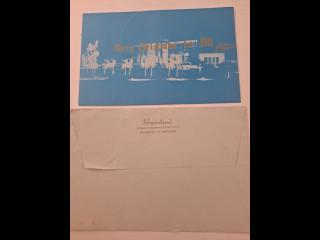 Graceland 1963 lähetetty  Joulukortti,onnittelijoina Presleyt