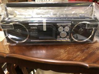 Aiwa kasettisoitin,käyttämätön 1990 luvulta