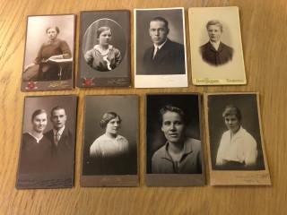 Erä vanhoja valokuvia