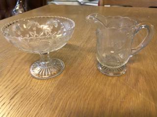Wiialan lasi kermakko ja tarjoilukulho