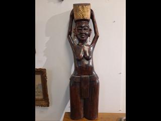 Figuuri Ghana puu/metalli