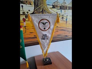 Pöytästandaari Ghanan Olympiakomitea